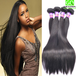 Hot Selling Softest And Smoothest Brazilian Virgin Straight Hair Remy Human Hair Weaves 3pcs lot Top Qualitied No Shed No Tangle