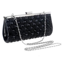 Wholesale-NEW Acrylic beaded women bags clutch purse handbags lady evening bags wedding tote clutches evening bag