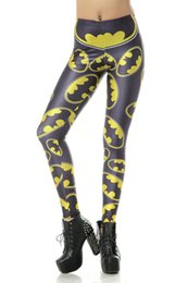 Hot Fashion 2015 Womens Pirate Costume Leggings Pants Digital Printing Hero Logo Woman Leggings