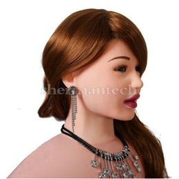 Oral sex dolls female sex doll offer blow job with 3 holes for sex, auto suction, inner sexy sound and vibrasition, stand position