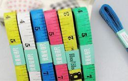 3000pcs Free shipping Body Tape Measure Length 150Cm Soft Ruler Sewing Tailor Measuring Ruler Tool Kids Cloth Ruler