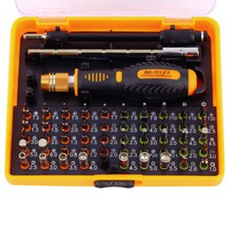 53 in 1 Multi-purpose Precision Magnetic Screwdriver Set with Trox Hex Cross Flat Y Star Screw Driver for phone Pc T01017