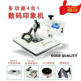 Wholesale UDT New Fashion Combo in T Shirt Heat Press Machine Digital Hot Transfer Mug Press Cap Dish Hot Sublimation Printer