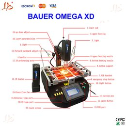 Wholesale to Russia No Tax BAUER OMEGA XD hot air and infrared repair machine with quarts tube in the bottom IR preheating area
