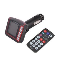 Wholesale 2 Hot vente en lecteur MP3 MP4 SD Card Transmetteur FM Lecteur SD MMC Car Kits avec télécommande livraison gratuite