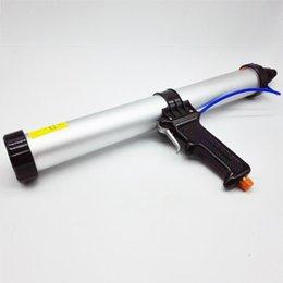 Wholesale High Quality inches ml Sausage Pneumatic Caulking Gun Glass Glue Gun Air Rubber Gun Caulk Applicator Tool