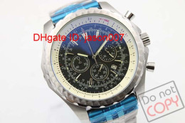 Wholesale Hot Sale Luxury Swiss Brand Watches Quartz Chronograph Motors T A25363 Steel Special Edition Mens Cassic Wristwatch Black Dial Leather Strap