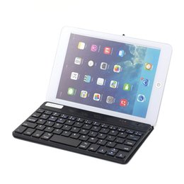 Wholesale Wireless Bluetooth Keyboard Case holder for Ios system IPhone ipad air air2 mini PC English or Russian Layout