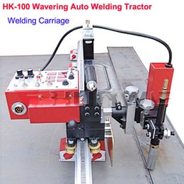 Wholesale HK Wavering Auto Welding Carriage with a Permanent Magnet Rail Hold Arc Welder S torch to Up Down Left Right Auto welding