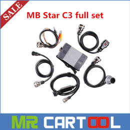 Wholesale DHL Best Quality MB Star C3 five cables Full Set multiplexer without software