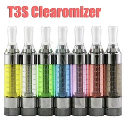 Kanger T3S clearomizer rebuildable atomizer tank copy protank gs h2 Replaceable coils for ego battery e cig cigs electronic cigarettes DHL