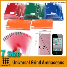 Wholesale Universal Grind Arenaceous Screen Protector Composite Protective Film Grid for Cellphone Laptops Tablet PC Size quot quot quot quot quot quot quot WGM4