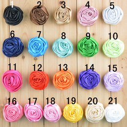 wholesale Lapel Flower Daisy Handmade Boutonniere Stick Brooch Pin Rose Decorated Cap Flowers Hair Garment Accessories AS21