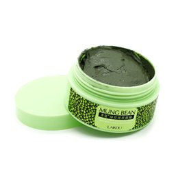 Wholesale LAIKOU Nutrition Deep Clean Mung Bean Mask Face Mask Cream Essence Moisturizing Oil Control Anti Aging Cream Anti Wrinkle Cream