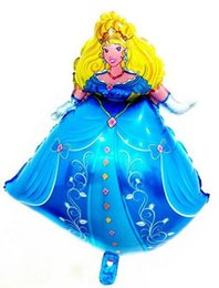 Wholesale New styles princess balloon Birthday Party cartoon Decorate Wedding balloon Hot sale Australia