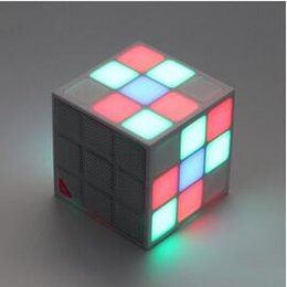 Wholesale 2016 New Magic Cube Wireless Bluetooth Speakers Stereo Portable Subwoofer c Architectural Aesthetics Support TF Card DHL