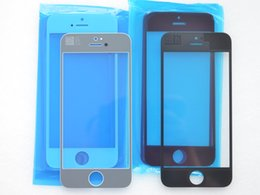 Touch Panel Digitizer For iPhone 5 Front Screen Outer Glass Lens Repair Part for iPhone 5 5th Mirror Glass Lens Black White