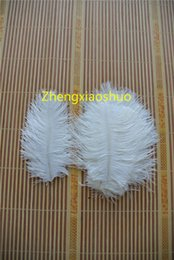 Free Shipping Ostrich Feather white 5-8 inch wedding Centerpieces Wedding Decoration party supplies decor event supply decor