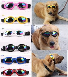 Wholesale Big Puppy Pet Dog Sunglasses with Smoke Lens for Spring Summer sunny Day Party travel sunglasses Free UPS ship