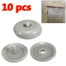 Wholesale 10x Universal Car Seat Belt Seatbelt Buckle Anti Slip Plastic Stop Buttons Clips