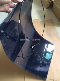 Wholesale 100w photovoltaic solar panels semi flexible solar module marine PV PANEL high efficiency for Yacht boat Caravan