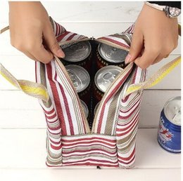 Wholesale Insulated Bag Lunch Tote Bag Box Cooler Bag Silver Interior Picnic Cold Drink Great for Heat Preservation or Keep Food Fresh for Hours