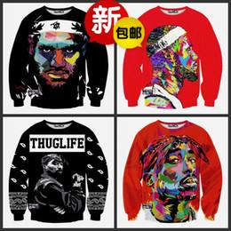 2016 new fashion Men Sweatshirt 3D Print Hoodies Hip Hop Tracksuit Casual Sweatshirt Animal Galaxy Skull Cartoon Characte