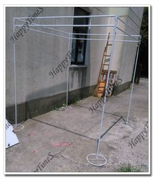 Wholesale 2 M Stainless Steel Canopy Set Wedding Banquet Outdoor Reception Hall Stand Can Expandable