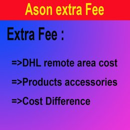 Wholesale Link for paying cost difference DHL remote area delivery cost accessories and any cost difference