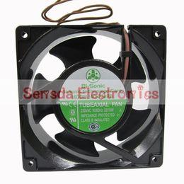 Bi-sonic 4C-230HB 120 *120*38MM 230VAC 12cm 120mm case cooling fan blower