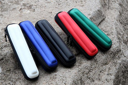 Multicolor portable ego carry case, the narrow e cig zipper pouch special for single battery and charger,easy carry when travel