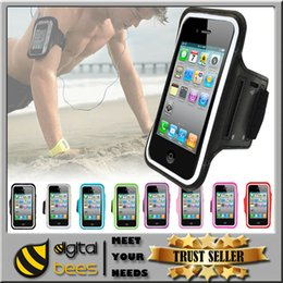 Wholesale For Iphone Armband Case Running Gym Sports Arm band Phone Bag Holder Pounch cover case Samsung S6 S6edge note5 note4 anti sweat