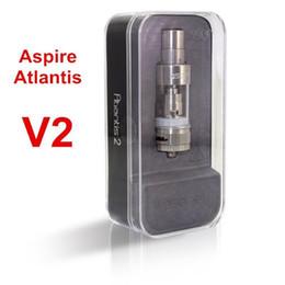 Billow v2 à vendre-Top Quality Atlantis V2 Atomiseur de réservoir 3ML atlantis 2 clearomizer avec 0.3 0.5Ohm Sub ohm bobines puissance énorme DHL Free VS Arctic Billow v2