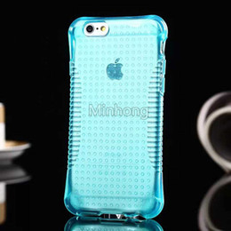For Iphone 5s 6s Plus Case Crystal Gel Case transparent Soft TPU Cases Clear Cases new creative design cell phone case DHL Free