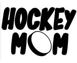 Wholesale Car Stickers Hockey Mom Car Window Sticker Vinyl Decal