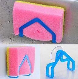Wholesale 5 X Convenient Sponge Holder Suction Cup Sink Holder Kitchen Cup Sink HolderDecor