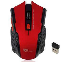 Wholesale Best Ghz Mini portable Wireless Optical Gaming Mouse Mice Professional Gamer Mouse For PC Laptop Desktop New Hot Worldwide