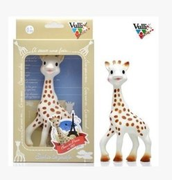 Wholesale Vulli Sophie the Giraffe Teether Baby teeth Babies Gift Infant silicone rubber baby teeth Hot sell
