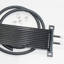 Wholesale RS MTX The most popular new oil black cooler adapted gearbox oil cooler cold car automatic transmission oil cooling oil