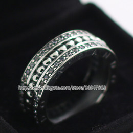 Jewelry Ring New 100% S925 Sterling Silver European Pandora Style Jewelry Forever Ring Fashion Charm Ring