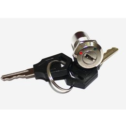 Wholesale New Best quality ON OFF Lock Latching Two Keys Set Mini key Switch Ignition More quantity more discount