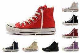 Wholesale 2015 Hot Selling Renben Classic Shoes High Top casual shoes Sneaker Men s Women s converses Shoes Size Eur