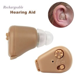 Wholesale Portable Axon Hearing Aid Rechargeable Audiphone Adjustable Tone In ear Sound Amplifier Personal Ear Care Tools Y4279R