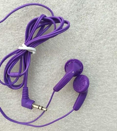 3.5mm Purple Stereo Disposable Earbud Headphones For School,Hotel,Gyms,Hospital 5000pcs lot