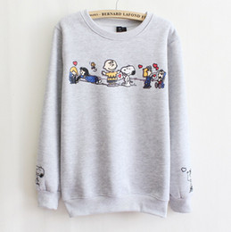 Fashion Women Sweatshirt Cartoon Printed Hoodies 2015women Causal Pullover