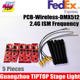 Wholesale Freeshipping PCB G DMX Wireless Receiver Module of DMX Wireless Stage Light PCB Board Signal Receiver remote control Guangzhou