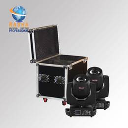 Wholesale 2X Freeshipping Channel Brand W Sharpy Beam with in1 Flight Case Stage Moving Head Beam Moving head beam