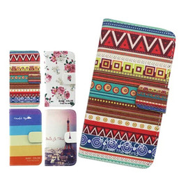 4 Colors Fashion Wallet Flip Leather Cover Case Stand For Alcatel Pop C1 C2 C3 C5 C9 6036 OT5020 Alcatel One Touch idol alpha 6032 (A0319)