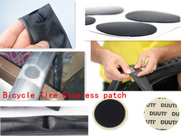 Wholesale-2pc MTB bike Tire patch Repair Tool kit Cycling Tire Glueless Patch Kit Bicycle Glueless Tire Tube Patch Bicycle Repair Tools