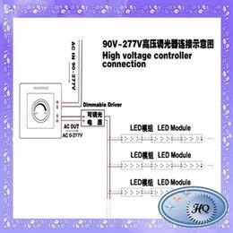 220V gros-haute tension télécommande infrarouge LED gradateur gradateurs 90-240V, LED, 110V, 230V à partir de haute tension gradateur fabricateur